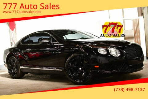 2012 Bentley Continental for sale at 777 Auto Sales in Bedford Park IL