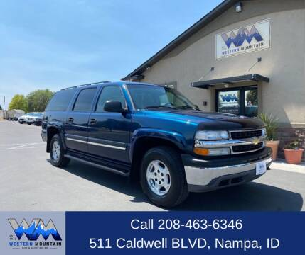 2005 Chevrolet Suburban for sale at Western Mountain Bus & Auto Sales in Nampa ID