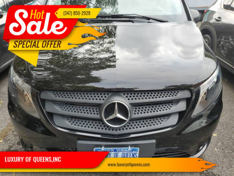 2017 Mercedes-Benz Metris for sale at LUXURY OF QUEENS,INC in Long Island City NY