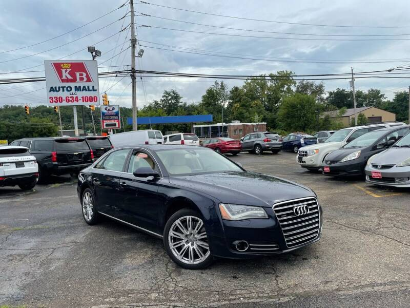 2011 Audi A8 L for sale at KB Auto Mall LLC in Akron OH