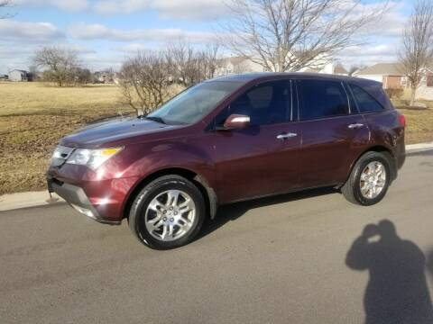 2007 Acura MDX for sale at CALDERONE CAR & TRUCK in Whiteland IN