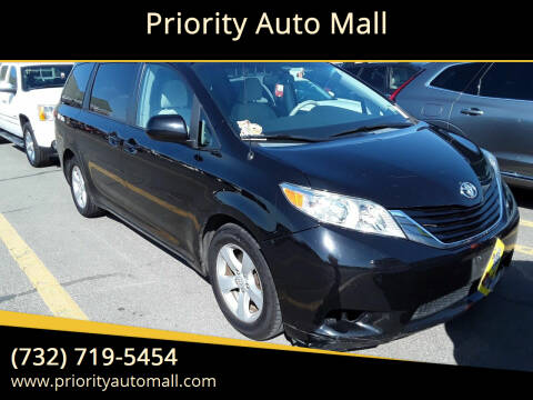 2012 Toyota Sienna for sale at Priority Auto Mall in Lakewood NJ