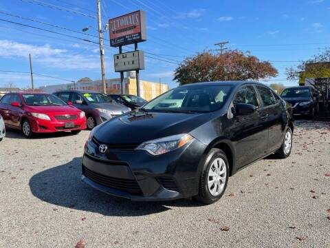 2016 Toyota Corolla for sale at Autohaus of Greensboro in Greensboro NC