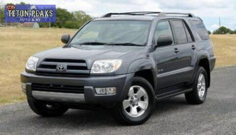2003 Toyota 4Runner for sale at Right Price Auto in Idaho Falls ID