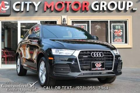 2017 Audi Q3 for sale at City Motor Group, Inc. in Wanaque NJ