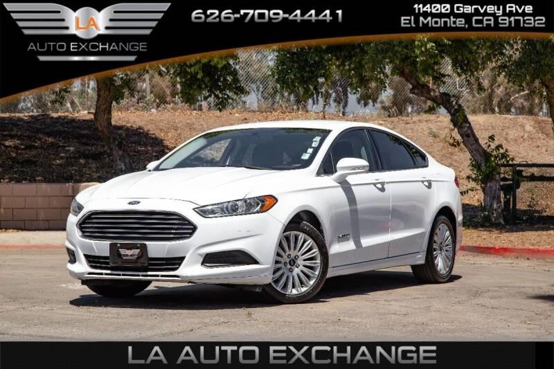 2014 Ford Fusion Hybrid for sale in El Monte, CA