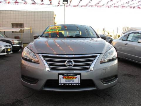 2014 Nissan Sentra for sale at El Guero Auto Sale in Hawthorne CA