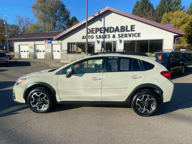 2016 Subaru Crosstrek for sale at Dependable Auto Sales and Service in Binghamton NY