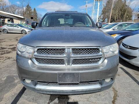2011 Dodge Durango for sale at JORDAN AUTO SALES in Youngstown OH