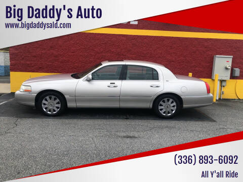 2003 Lincoln Town Car for sale at Big Daddy's Auto in Winston-Salem NC