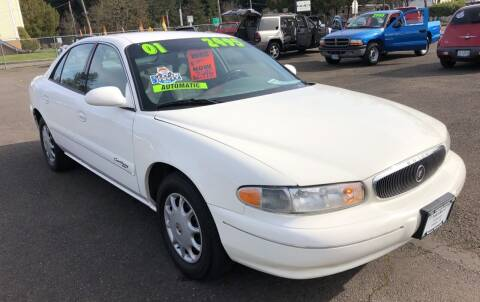 2001 Buick Century for sale at Freeborn Motors in Lafayette, OR
