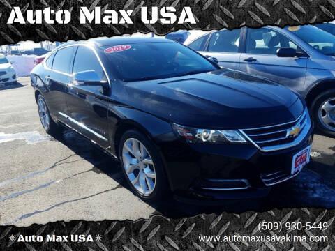 2019 Chevrolet Impala for sale at Auto Max USA in Yakima WA
