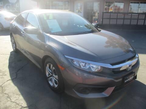 2017 Honda Civic for sale at Quick Auto Sales in Modesto CA