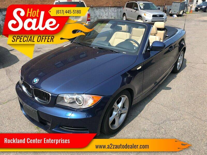 2011 BMW 1 Series for sale at Rockland Center Enterprises in Boston MA