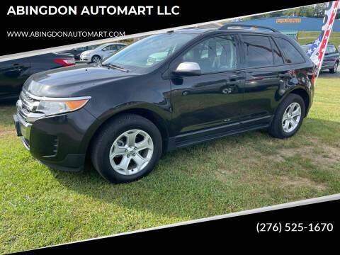 2012 Ford Edge for sale at ABINGDON AUTOMART LLC in Abingdon VA