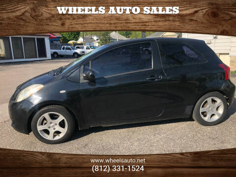 2008 Toyota Yaris for sale at Wheels Auto Sales in Bloomington IN