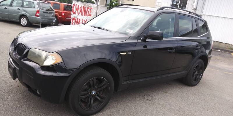 2006 BMW X3 for sale at JG Motors in Worcester MA