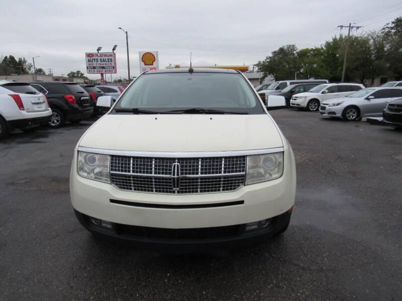 2007 Lincoln MKX for sale at PLATINUM AUTO SALES in Dearborn MI