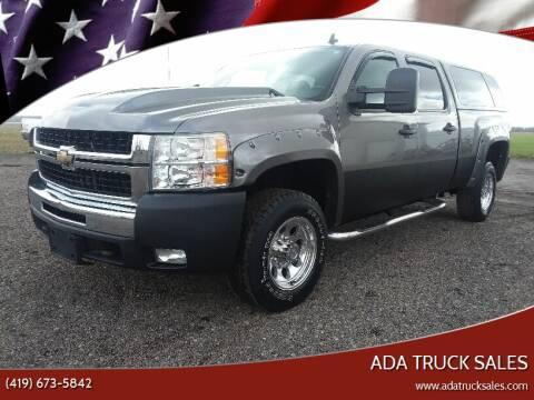 2008 Chevrolet Silverado 2500HD for sale at Ada Truck Sales in Ada OH