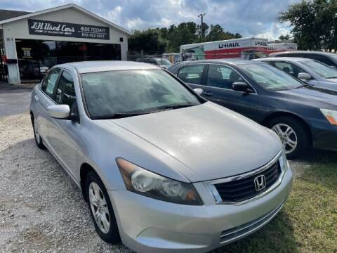 2008 Honda Accord for sale at L & H Used Cars of Wilmington in Wilmington NC