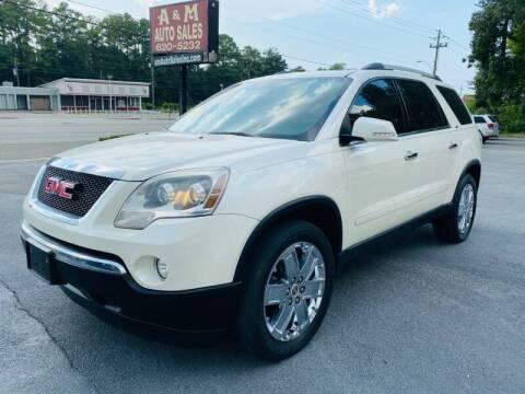 2012 GMC Acadia for sale at A & M Auto Sales, Inc in Alabaster AL