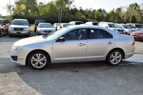 2012 Ford Fusion for sale at PINNACLE ROAD AUTOMOTIVE LLC in Moraine OH