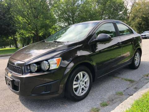2015 Chevrolet Sonic for sale at NEW ENGLAND AUTO MALL in Lowell MA