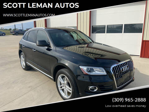 2015 Audi Q5 for sale at SCOTT LEMAN AUTOS in Goodfield IL