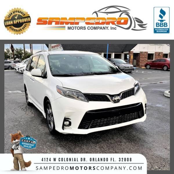 2018 Toyota Sienna for sale at SAMPEDRO MOTORS COMPANY INC in Orlando FL