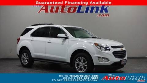 2016 Chevrolet Equinox for sale at The Auto Link Inc. in Bartonville IL