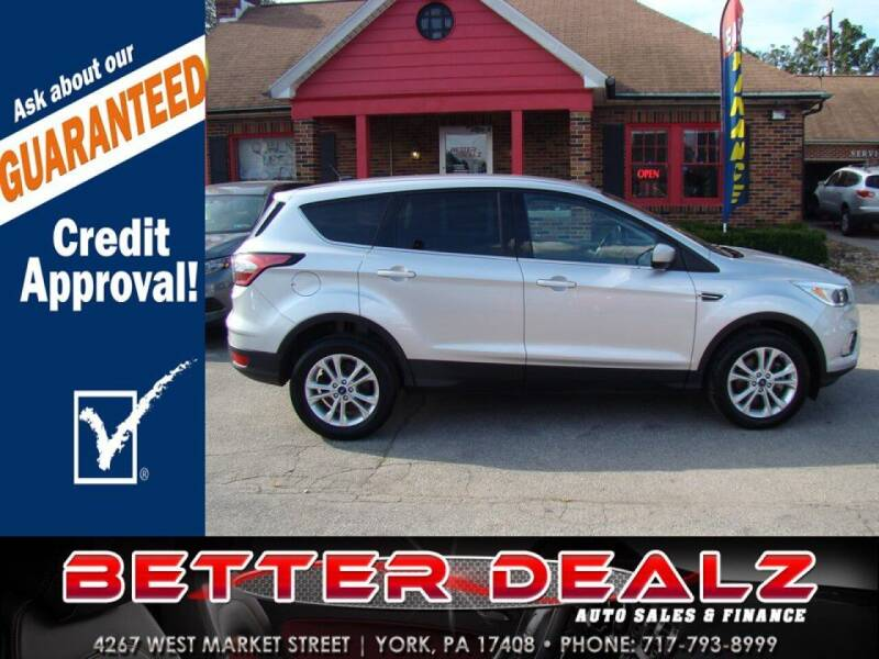 2017 Ford Escape for sale at Better Dealz Auto Sales & Finance in York PA