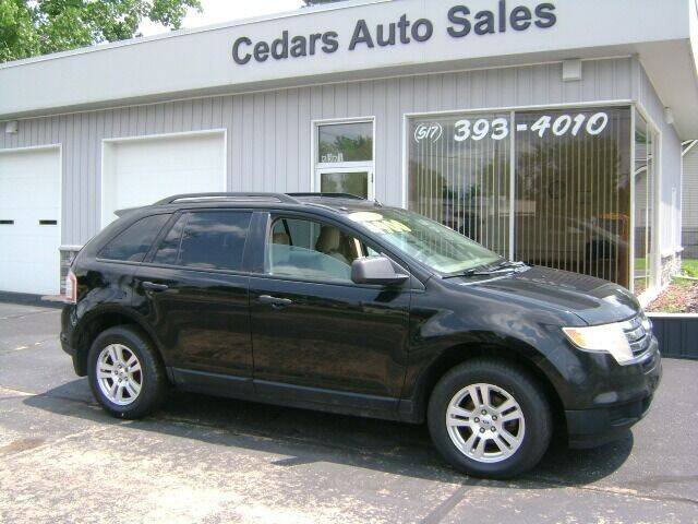 2007 Ford Edge for sale at Cedar Auto Sales in Lansing MI
