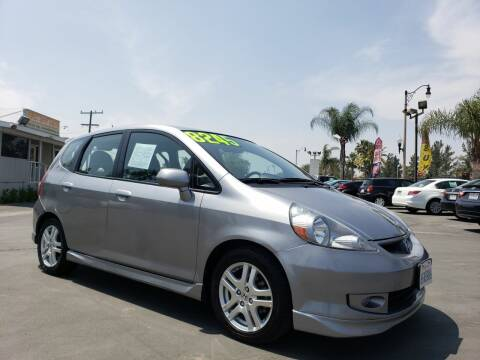 2008 Honda Fit for sale at First Shift Auto in Ontario CA