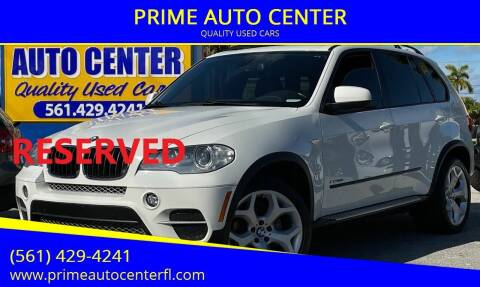 2013 BMW X5 for sale at PRIME AUTO CENTER in Palm Springs FL