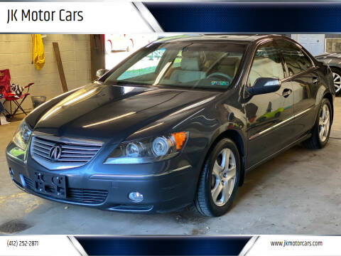 2006 Acura RL for sale at JK Motor Cars in Pittsburgh PA