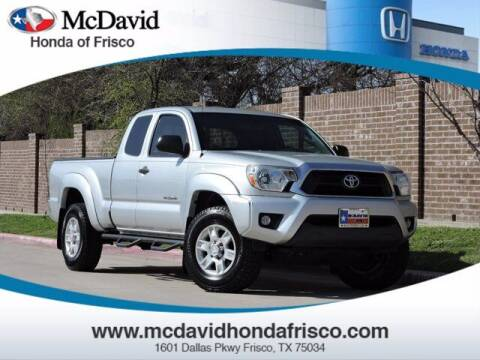 2013 Toyota Tacoma for sale at DAVID McDAVID HONDA OF IRVING in Irving TX