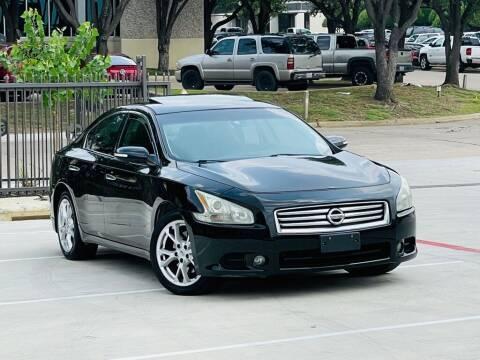 2012 Nissan Maxima for sale at Texas Drive Auto in Dallas TX
