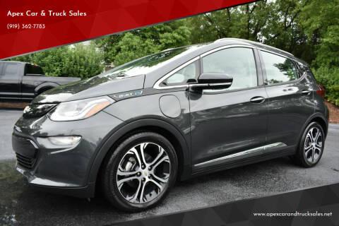 2017 Chevrolet Bolt EV for sale at Apex Car & Truck Sales in Apex NC