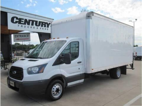 2015 Ford Transit Cutaway for sale at CENTURY TRUCKS & VANS in Grand Prairie TX