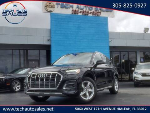 2021 Audi Q5 for sale at Tech Auto Sales in Hialeah FL