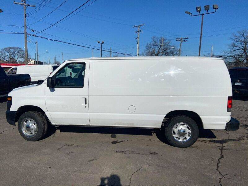 2012 Ford E-Series Cargo for sale at Groesbeck TRUCK SALES LLC in Mount Clemens MI