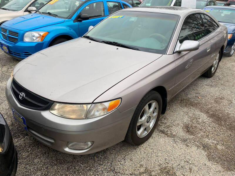 1999 Toyota Camry Solara for sale at 5 Stars Auto Service and Sales in Chicago IL