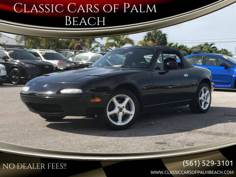 1996 Mazda MX-5 Miata for sale at Classic Cars of Palm Beach in Jupiter FL