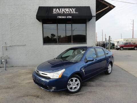 2008 Ford Focus for sale at FAIRWAY AUTO SALES, INC. in Melrose Park IL