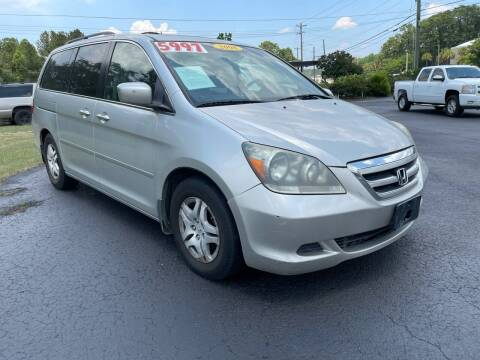 2007 Honda Odyssey for sale at Rock 'n Roll Auto Sales in West Columbia SC