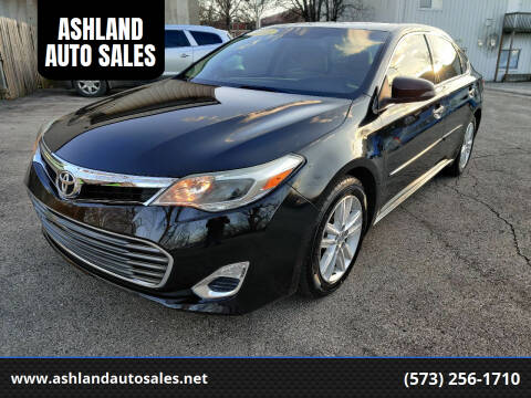 2015 Toyota Avalon for sale at ASHLAND AUTO SALES in Columbia MO