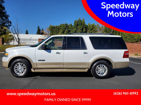 2007 Ford Expedition EL for sale at Speedway Motors in Glendora CA