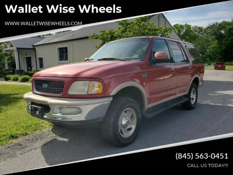 1997 Ford Expedition for sale at Wallet Wise Wheels in Montgomery NY