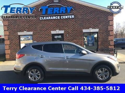 2016 Hyundai Santa Fe Sport for sale at Terry Clearance Center in Lynchburg VA