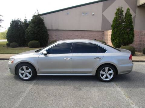 2012 Volkswagen Passat for sale at JON DELLINGER AUTOMOTIVE in Springdale AR